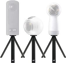 EEEKit Ultra Portable Mini Table Top Tripod Stand Grip Stabilizer for Samsung Gear 360 /Gear 360 2017 Edition Camera, Ricoh Theta Z1/V/S/SC