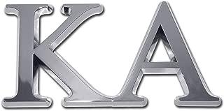Elektroplate KA Kappa Alpha Order Fraternity Chrome Auto Emblem