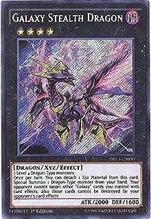 Yu-Gi-Oh! - Galaxy Stealth Dragon (DRL3-EN030) - Dragons of Legend: Unleashed - 1st Edition - Secret Rare
