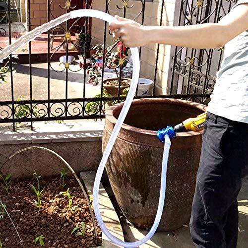 Sifón con Bomba Taladro de Altas Prestaciones autocebante de mano eléctrico Gasolina Bomba de agua del coche camión de aceite combustible Diesel agua líquida bomba centrífuga