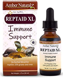 Amber Technology Reptaid XL Immune Support for Large Reptiles, 1oz.