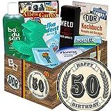 50. Geburtstag / Geschenk 50. Geburtstag Frau / DDR Pflegebox