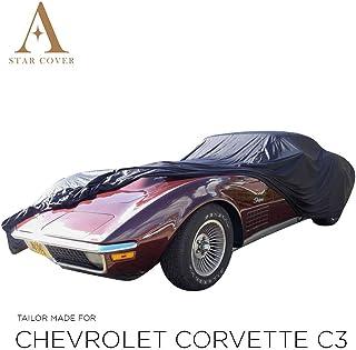 Int/érieur//ext/érieur de Housse de Protection Auto pour Chevrolet Corvette C3 Stingray Coupe 1968-1982