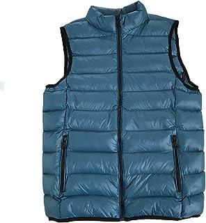 TieNew Mens Winter Ultralight Down Gilet Vest,Mens Winter Sleeveless Jacket Ultralight White Duck Down Vest Outwear