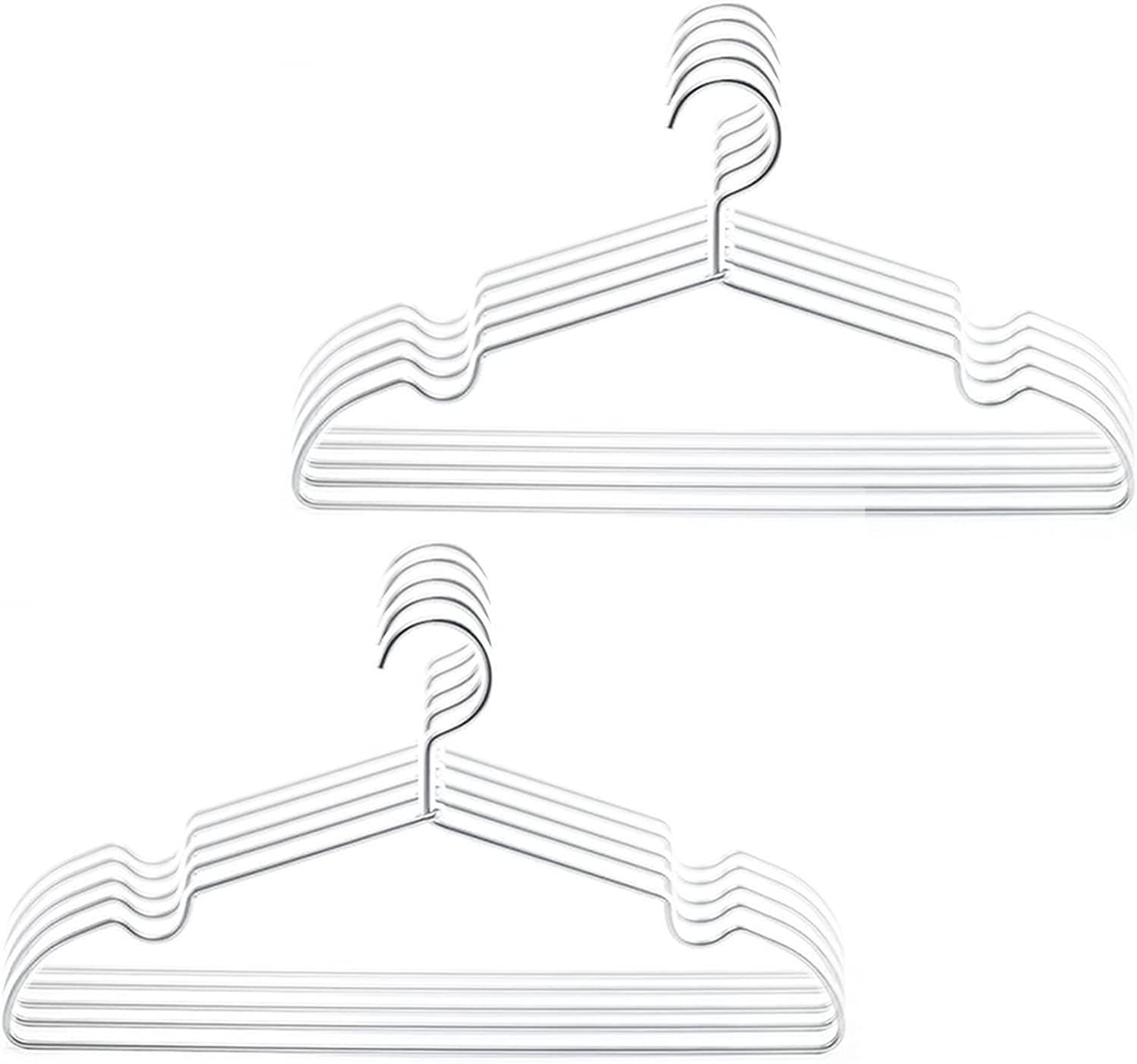 10 Max 47% 55% OFF OFF Pack Clothes Hangers Coat fo Organizer StrongDurable