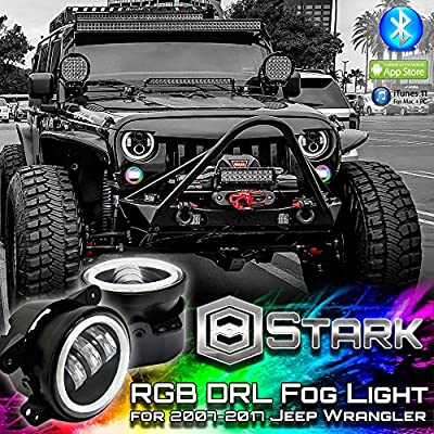 Jeep LED Headlight and Fod Lights
