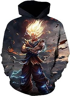 dragon ball z 3d hoodie