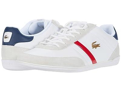 Lacoste Giron 0320 1 (White/Navy) Men