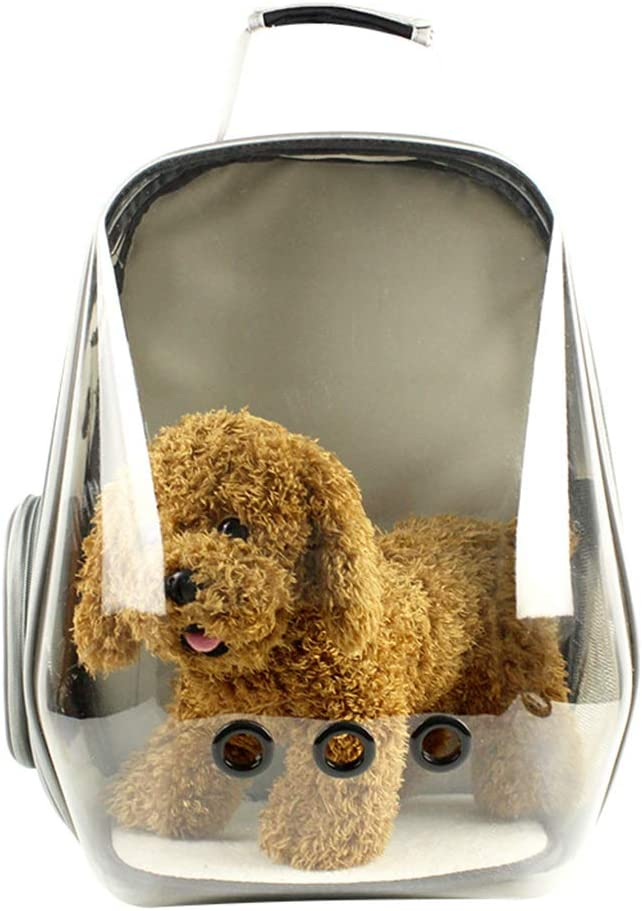 XMSG Pet Carrier Backpack Dedication Seattle Mall Space Portable Capsule Transparent Ca