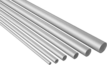 1500mm Aluminium Rundrohr Alu Rohr 48x3mm EN 573//755 L= 500-2000mm