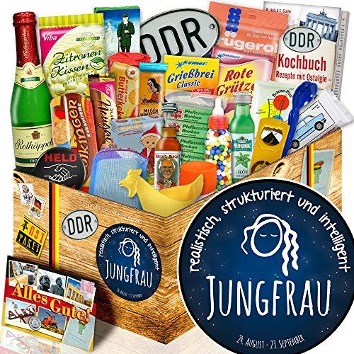 Sternzeichen Jungfrau + Geschenkidee Ostalgie + Sternzeichen Geschenk