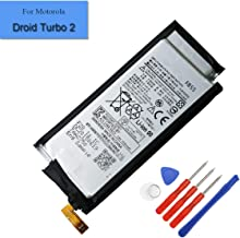 New 3550mAh Replacement Battery FB55 Compatible with Motorola Droid Turbo 2 XT1581 XT1585 Internal Battery + Tools (FB55)
