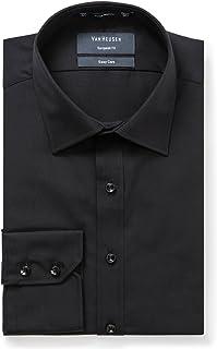 Van Heusen Men's Euro-Tailored Fit Solid Business Shirt