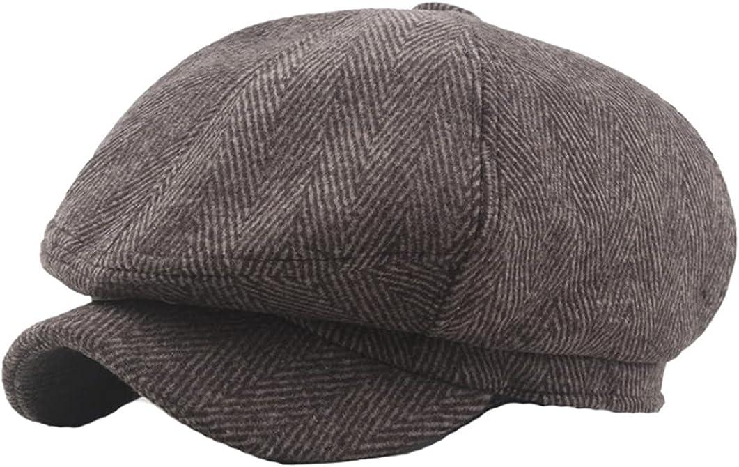 AXSKMY Men's Summer online shop Spring Thin Cheap Hats Un Retro Breathable Newsboy