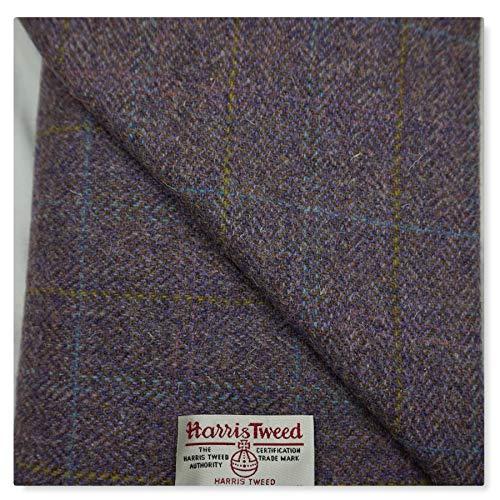 Harris Tweed-Stoff, 100% Reine Wolle, mit Etiketten, 75 x 50 cm aug26 – Siehe die Ganze Reihe von...