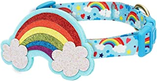 Sponsored Ad - Blueberry Pet 7 Patterns Perfect Rainbow/Multi-Colored Stripe Dog Collars