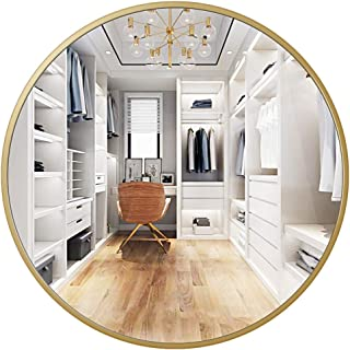 Best gold wall mirror round Reviews