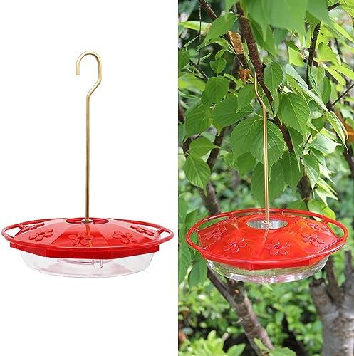 Juegoal-12-oz-Hanging-Hummingbird-Feeder-with-8-Feeding-Ports
