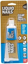 Liquid Nails LN-207 6 Pack 2.5 oz. Small Projects Silicone Adhesive, Clear