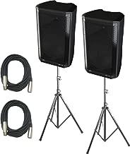 Peavey DM112 12-Inch Powered Speakers Bundle