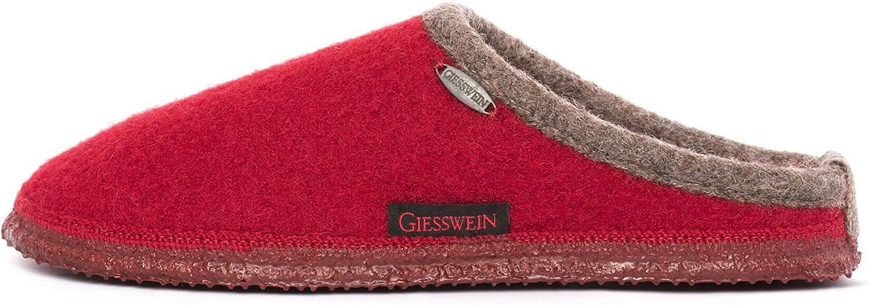 GIESSWEIN Men's Dannheim Open Back Slippers