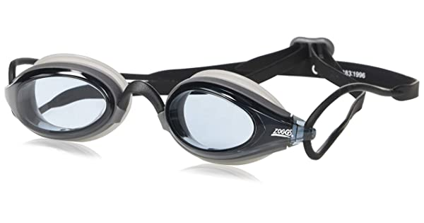 303021-111 Zoggs Podium S//XL Adjustable Goggle High Comfortable Nose Bridge Fogbuster Lenses Small//X-Large Smoke//Smoke Vision Products International Inc