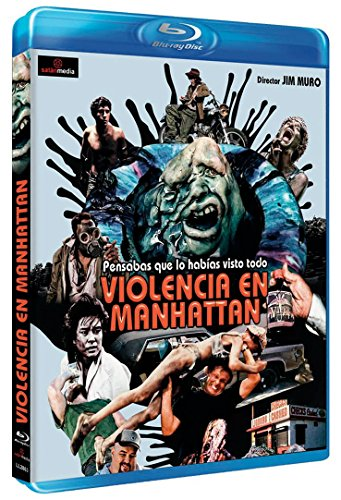 Violencia en Manhattan [Blu-ray]