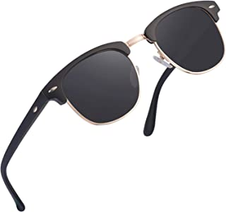 SUNGLASSES FOR MEN WOMEN - Half Frame Polarized Classic fashion womens mens sunglasses FD4003