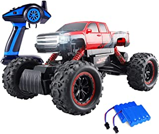 Geekper Electric RC Car Built with LED Headlights for Kids and Adult - Offroad Remote Control Cars RTR RC Buggy RC Monster...