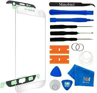 MMOBIEL Kit de Reemplazo de Pantalla Táctil Compatible con Samsung Galaxy S7 Edge G935 (Blanco) Incl Kit de Herramientas