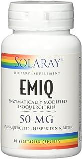 Solaray Emiq 50 mg VCapsules, 30 Count