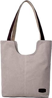 SGJFZD Women's Handbag Large-Capacity Backpack Waist Bag Messenger Bag Shoulder Bag Messenger Bag Tote Bag Canvas Shopping Travel Fashionable Laptop Bag for Ladies Wallet Storage Bag (Color : Beige)