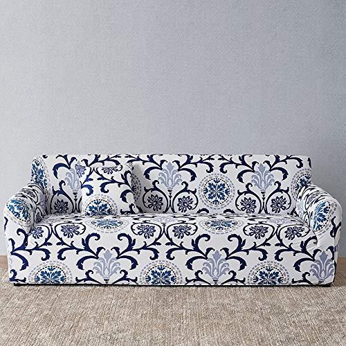 Funda de sofá Europea con Estampado Floral Fundas de sofá para Sala de Estar Sofá Toalla Funda de Muebles Sillón Funda de sofá A15 3 plazas