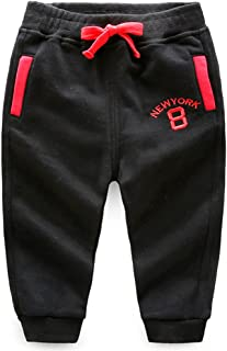 Ian&Sophia Baby Boy's Toddler Kids Color Block Pocket Pull-On Sweatpants