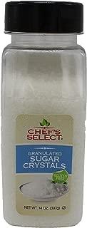 Chef's Select White Sugar Crystals 14oz - Value Size