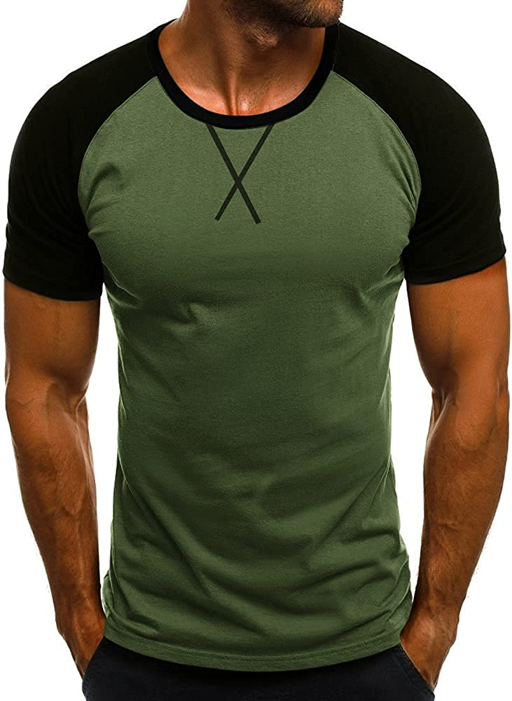 Esobo Men's Today's only Muscle Athletic Tees Training Bodyb Gym Short Sleeve Popular product