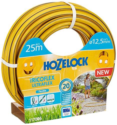 Hozelock Tricoflex 117006Jardín Manguera Ultraflex, Amarillo