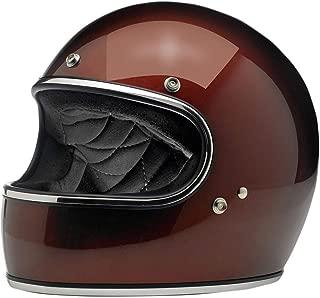 Biltwell Gringo Solid Full-face Motorcycle Helmet - Bourbon Metallic / 2X-Large