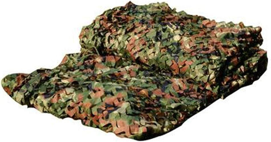 Filet De Camouflage Spécial pour Les Activités dans La Jungle Pliable Fleurs Coupées Grille Fixe Tissu Oxford, 38 Tailles (Couleur   Vert, Taille   5x5m)