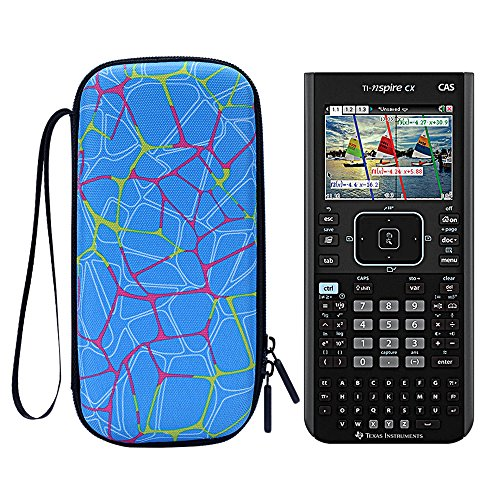 MASiKEN Hard Case for Texas Instruments TI-Nspire CX II/Nspire CX CAS/TINSPIRECX TI-Nspir Graphing Calculator, Protective Carry Bag
