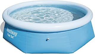 Bestway 8' Clear Fast Set Pool Set -