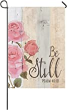 Be Still and Know that I am God Psalm 46:10 Polyester House Flag Outdoor Banner 28