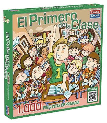 Falomir Juego de Mesa Educativo, 1000 Preguntas, multicolor, El primero de la clase 1.000 (646460)