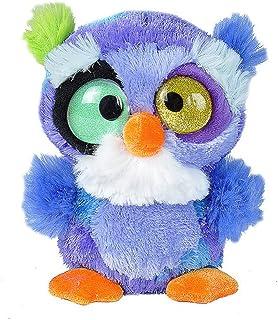 Wild Republic 19609 15 cm Wonky Mini Plush Owl Toy