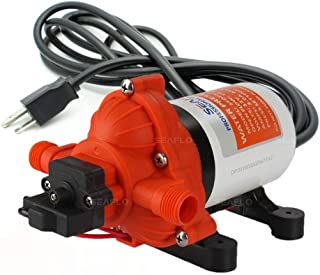 SEAFLO 33-Series Industrial Water Pressure Pump w/Power Plug for Wall Outlet –..