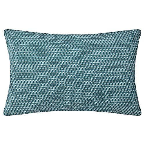 Atmosphera - Coussin Motif Otto Bleu 30x50 cm