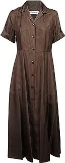 Luxury Fashion Womens K20K200745016 Brown Dress   Season Outlet