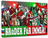 Ultras Rapid& NürnbergFreundschaft Format: 80x60, Bild