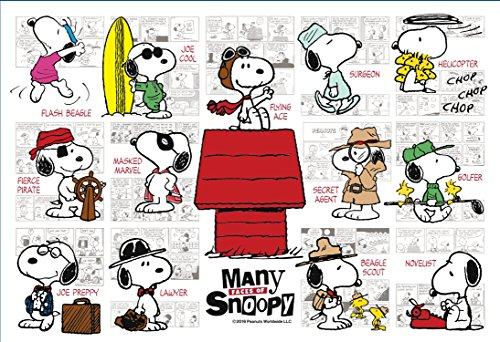 300-piece jigsaw puzzle PEANUTS MANY Faces of Snoopy (26x38cm) by Apollo-sha
