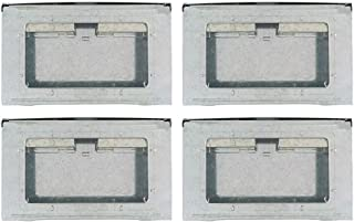 Southern Homewares SH-10059-4PK Multi-Catch Clear Top Humane Repeater Mouse Trap, 4 Pack, Silver